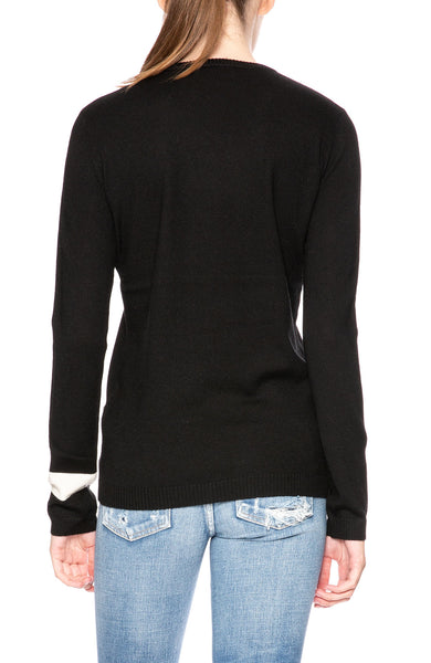 Bella Freud French Women Jumper in Black at Ron Herman