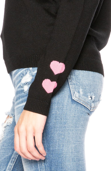 Bella Freud Solidarite Feminine Sweater in Black at Ron Herman