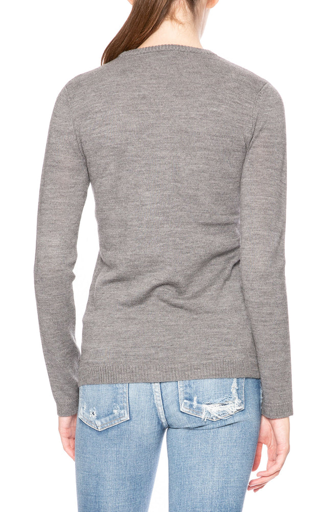 Bella Freud Psycho Analysis Sweater in Gray at Ron Herman