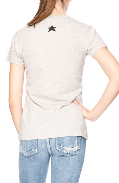 Bella Freud Solidarite Feminine T-Shirt in Grey at Ron Herman