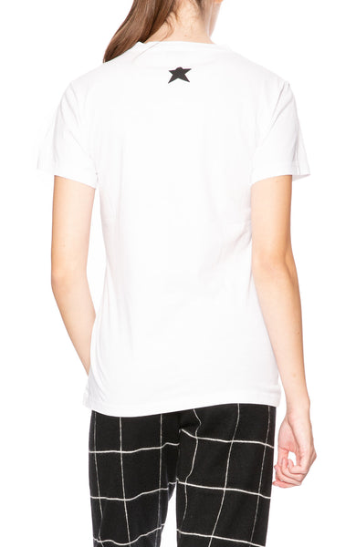 Bella Freud Solidarite Feminine T-Shirt in White at Ron Herman