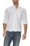 Luke Stripe Chambray Shirt