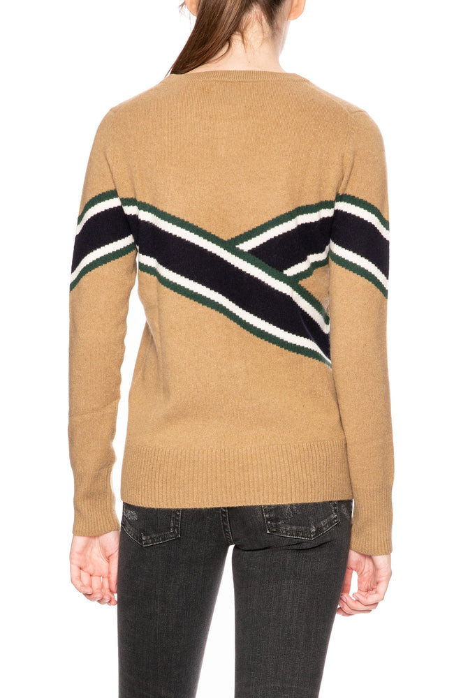 Madeleine Thompson Anastasia Camel Sweater at Ron Herman