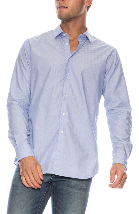 Exclusive Brezza Jacquard Button Down Shirt