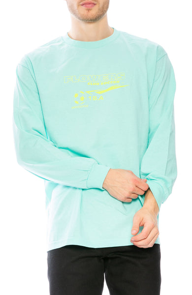 Flowers Club Soccer Long Sleeve T-Shirt at Ron Herman
