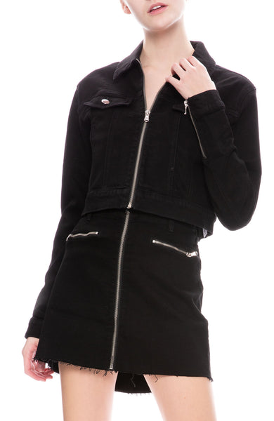 J Brand Moto Jacket in Vanished at Ron Herman
