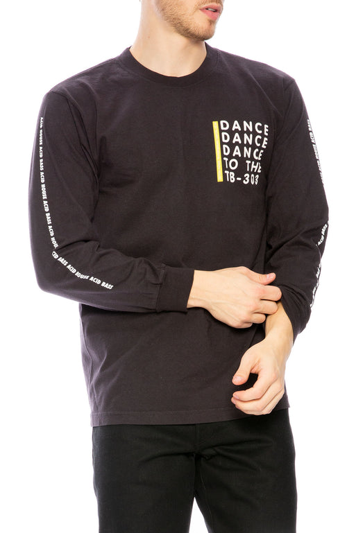 FACT. Hardcore Happiness Long Sleeve T-Shirt at Ron Herman