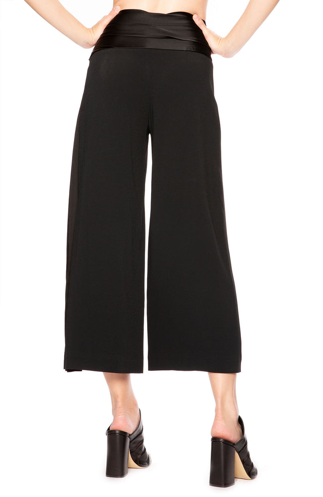 Jonathan Simkhai Fluid Satin Wrap Pant at Ron Herman