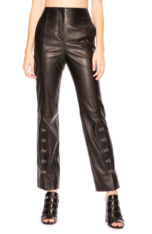 Jonathan Simkhai Leather E-Cig Pant at Ron Herman