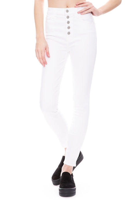Lillie High-Rise Skinny In Photo Ready HD White