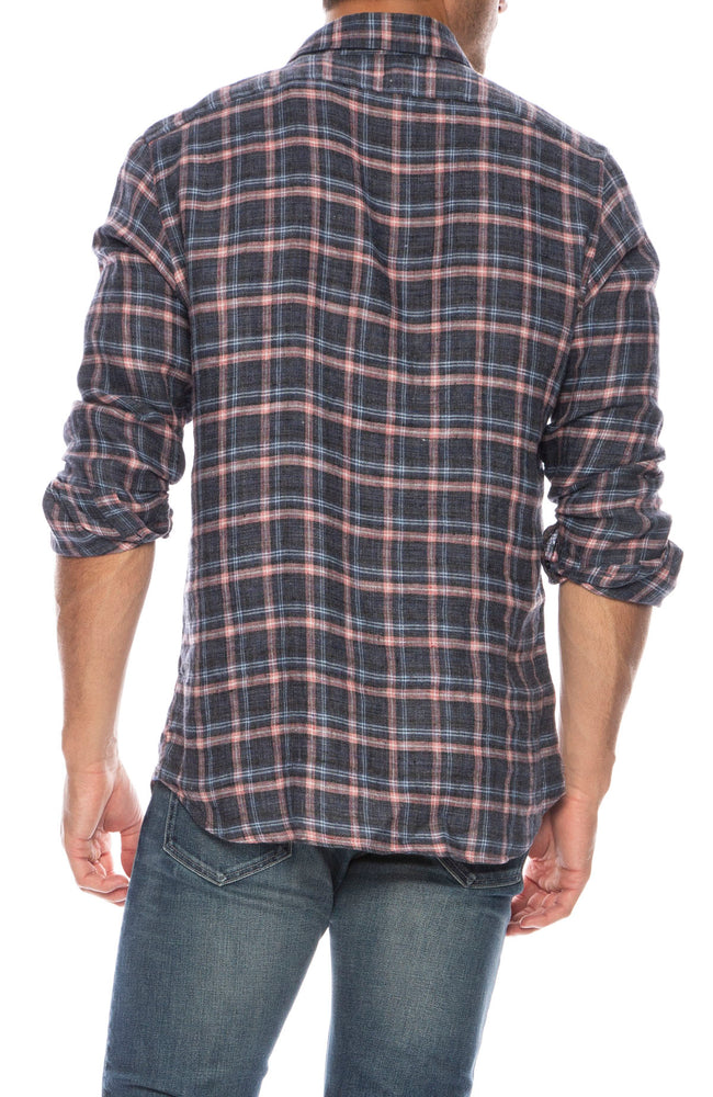 Exclusive Linen Plaid Shirt