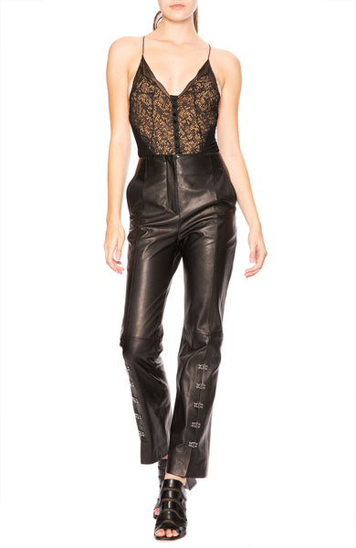 Jonathan Simkhai Deep-V Lace Bodysuit at Ron Herman