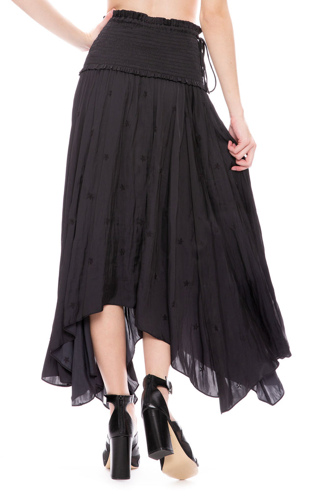 Ulla Johnson Justine Skirt in Noir at Ron Herman