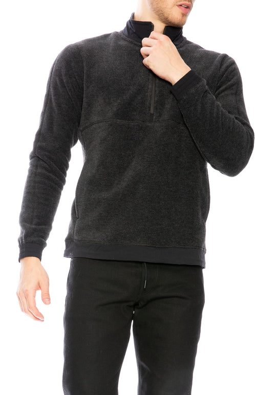 Reigning Champ Half Zip Polartec Fleece Pullover at Ron Herman