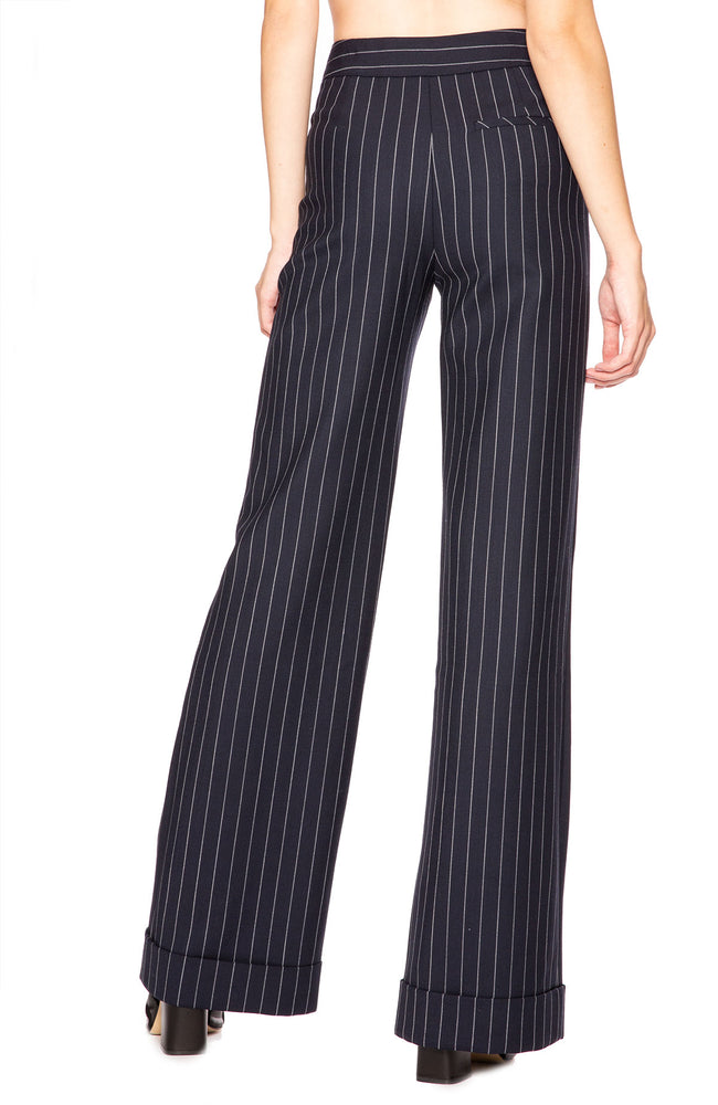 Jonathan Simkhai Newton Pinstripe Pants at Ron Herman