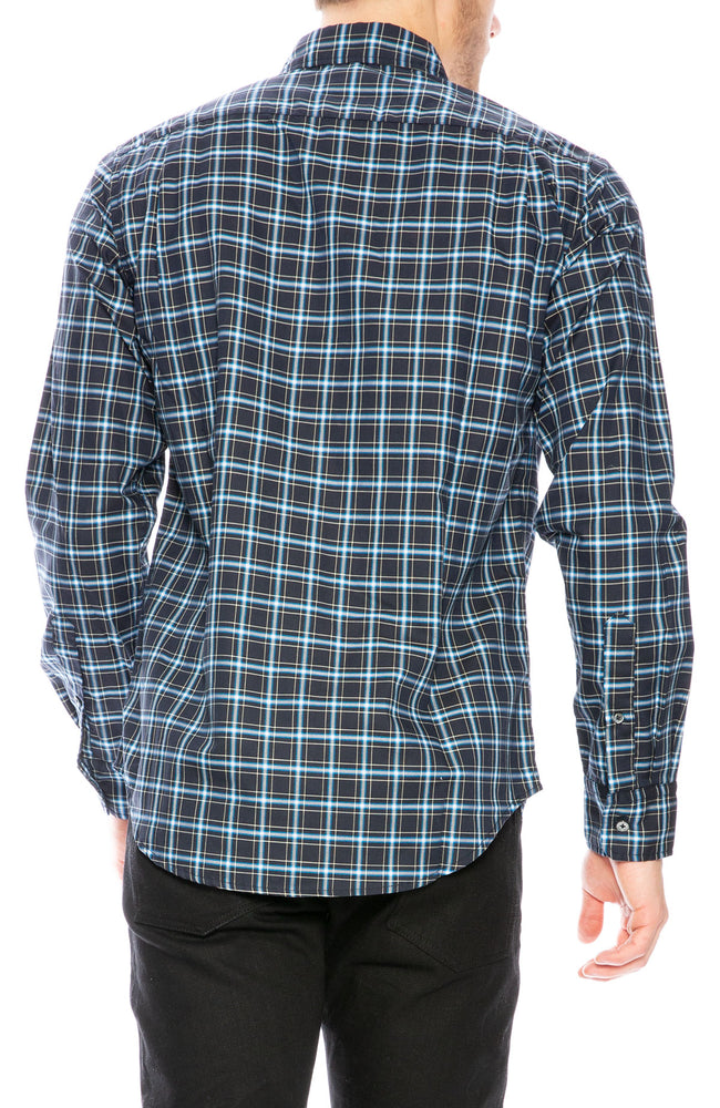 Relwen Lightweight Plaid Shirt at Ron Herman