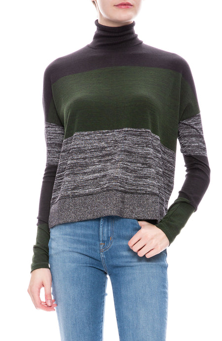 Stripe Bowery Pullover Sweater