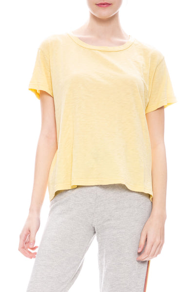 Sundry Vintage T-Shirt in Chamomile Yellow at Ron Herman