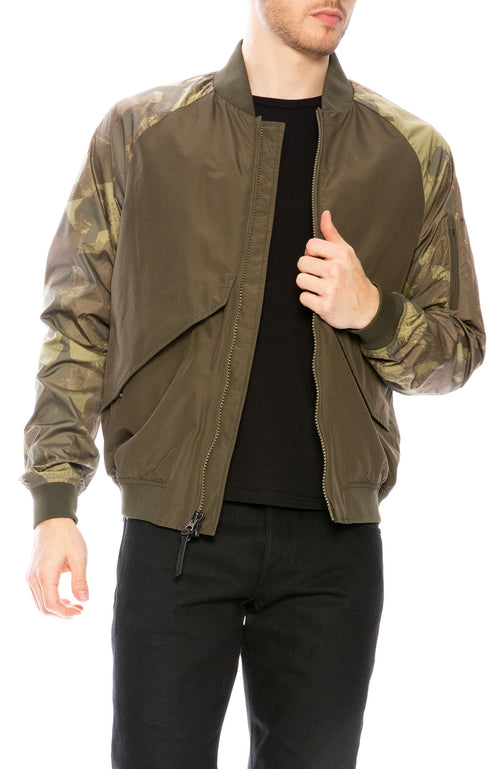 Woolrich Greenfield Bomber Jacket at Ron Herman