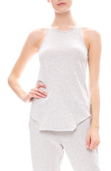 Frank & Eileen Tee Lab Jersey Tank Top in Grey Melange