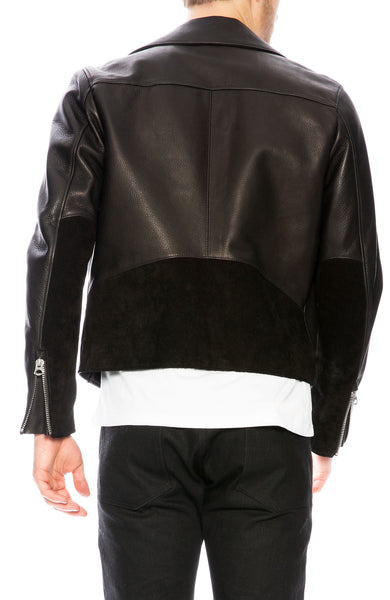 Acne Studios Axl Leather Jacket at Ron Herman
