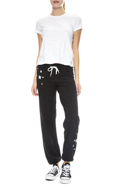 Embroidered Star Sweatpant