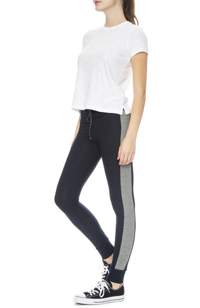 Colorblock Skinny Sweatpants