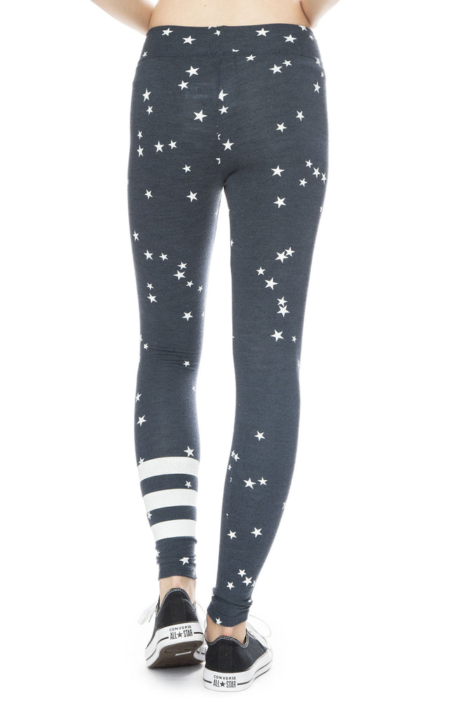 Star and Stripe Sweatpant Legging