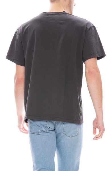 John Elliott Mens Basalt T-Shirt in Charcoal