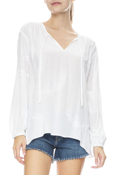 Clear Skies Woven Top