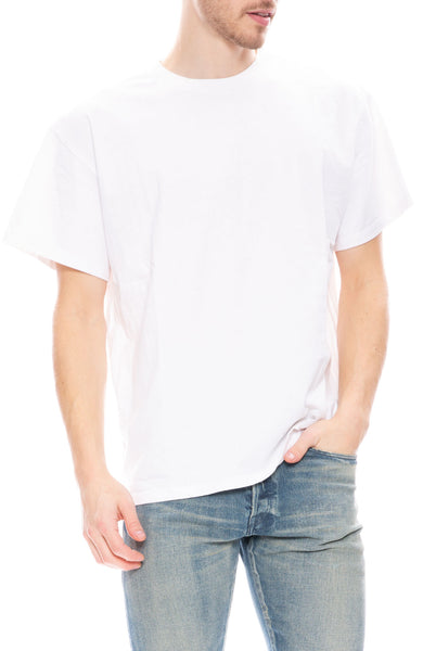 John Elliott Mens Basalt T-Shirt in White
