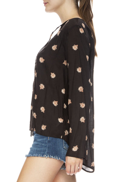 Like Minded Floral Tunic Top