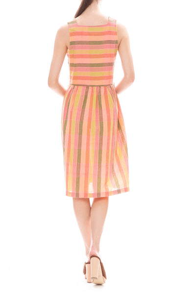 Rooney Paradise Stipe Turnaround Dress