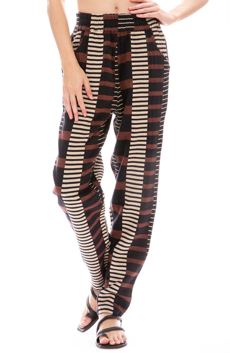Lockwood Print Gatsby Pants