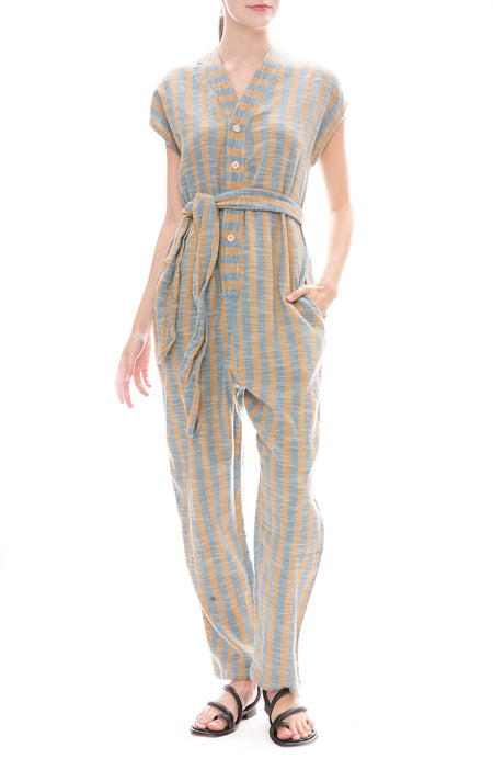 Costa Stripe Rhys Jumpsuit