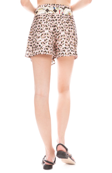 Kiss Love Mumbai Tie Shorts