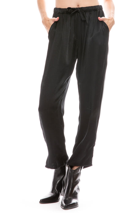 Satin Drawstring Trouser