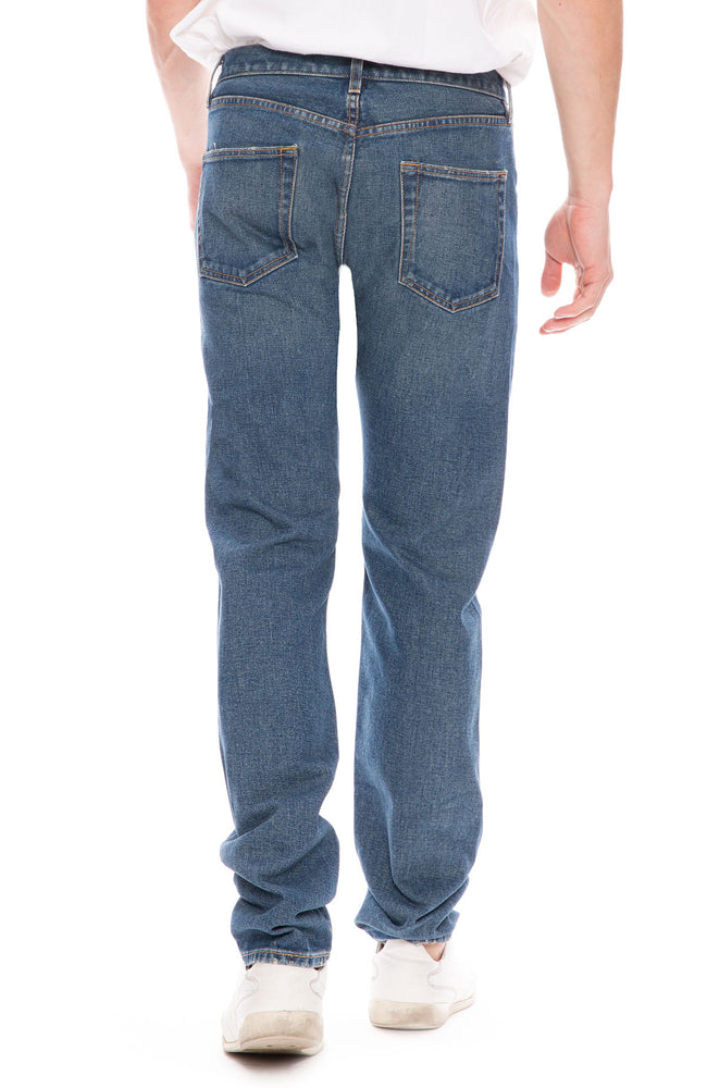 Simon Miller M001 Narrow Jean in Indigo Wash #4