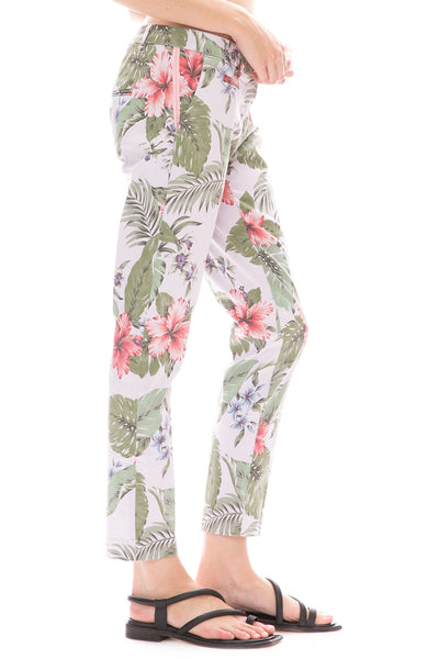 Floral Hibiscus Trouser Pants