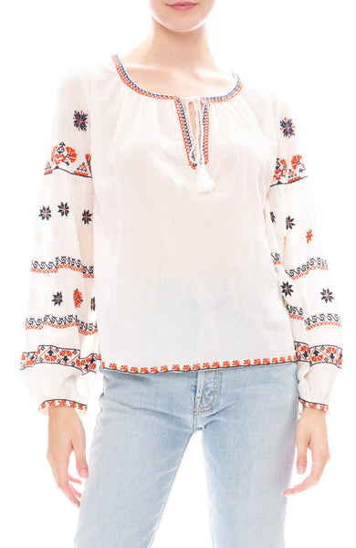 Star Mela Rilla Embroidered Top