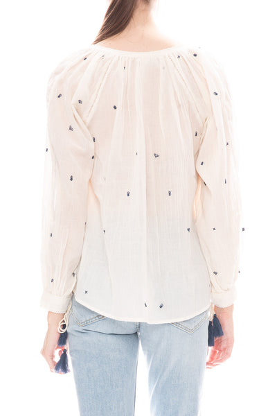 Star Mela Pami Embroidered Blouse