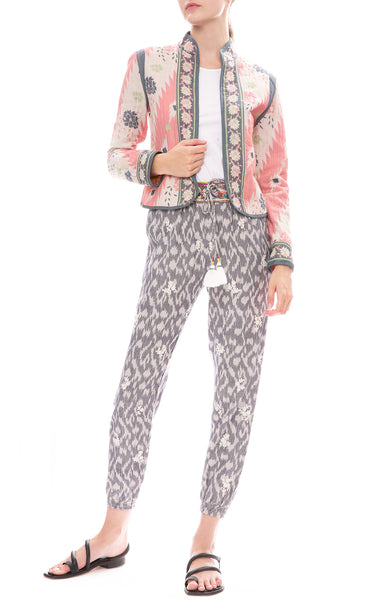 Star Mela Sonika Embroidered Pants with Nemi Print Jacket