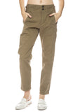 Cotton Pant with Button Tabs