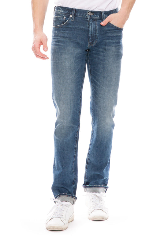 S.M.N. Mens Hunter Straight Slim Jean in Prospect