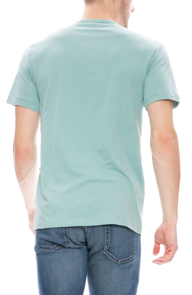 Vissla Mens Stoked Pocket T-Shirt in Jade