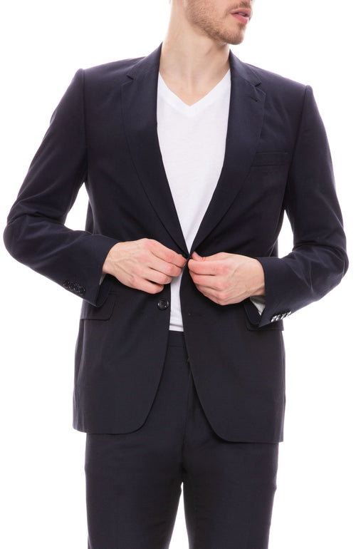 Lightweight Textured Suit Jacket