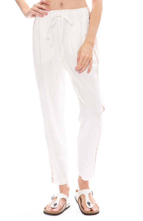 Xirena Rex Twill Pants in Off White