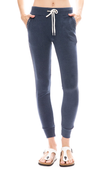 Stud Trim Sweatpants