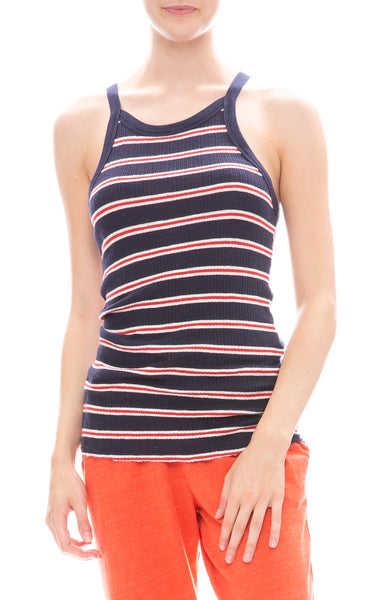 Strappy Stripe Tank