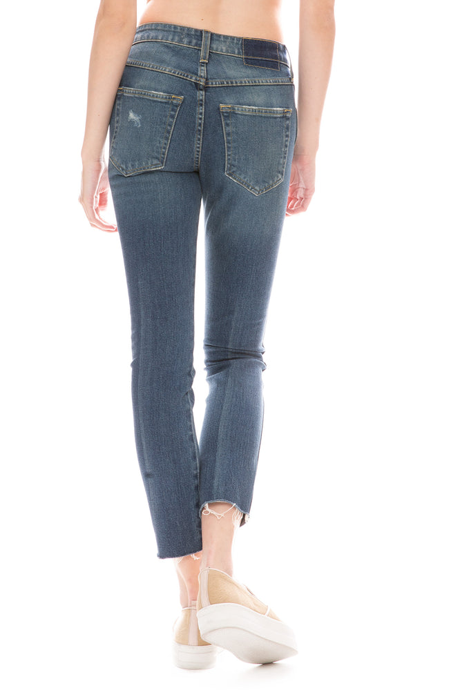 Stix Crop Jean in Mojave